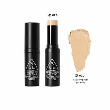 3CE MELTING FOUNDATION STICK 14g SPF30/PA+++ (#020)