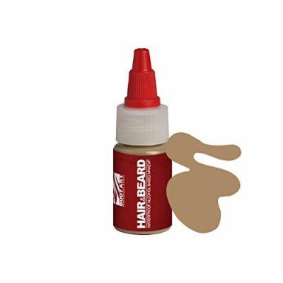 European Body Art EnduraHAIR&BEARD Alcohol Based Airbrush Airgun Hair and Beard Paint Liquid Makeup, Sand 0.5oz
