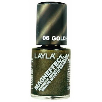 Layla Magneffect Nail Polish, Golden Nugget, 1.9 Ounce by Layla