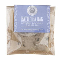 Lavender, Patchouli and White Tea Bath Tea Bag by Wild Olive