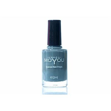 Down Grey, Persian Turquoise, White Colours Stamping Nail Polish by MoYou Nail used to Create Beautiful Nail Art Designs Sourced Directly from the Manufacturer - Bundle of 3
