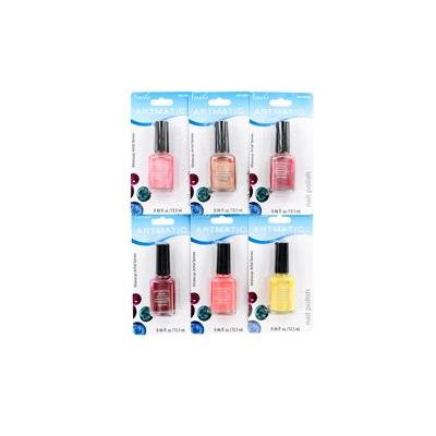 ARTMATIC MEGA BRILLIANCE NAIL POLISH 0.29 OZ ARTMATIC/MEGA BRILLIANCE NAIL POLISH 72 PCS ASSORTED COLORS 0.29 OZ EA (8.5 ML) INDIVIDUALLY CARDED UPC: 073911990036