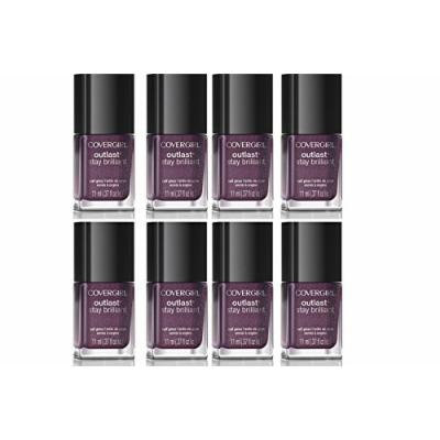 Lot of 8 Covergirl Cover Girl Nail Polish Stay Brilliant 75 Pyro Pink