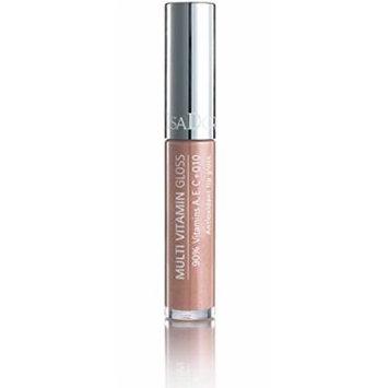 Isadora Multi Vitamin Antioxidant Lip Gloss made by 90% of vitamins A, C, E + Q10 - 7 ml/.24 Fl.oz. (02 Sheer Almond)