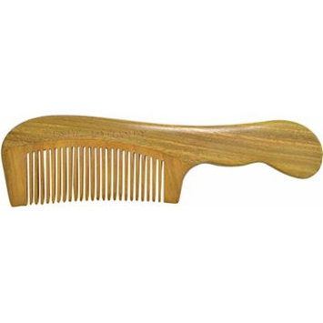 TANG DYNASTY No Static 100% Handmade Natural Fine Sandalwood Wood Comb With Gift Box 041