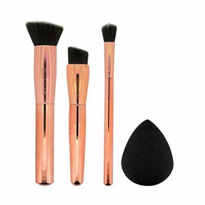 Makeup Revolution Ultra Sculpt and Blend Collection - Face Brushes and Sponge Set