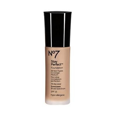 BOOTS NO7 Stay Perfect Foundation SPF 15, Deeply Beige