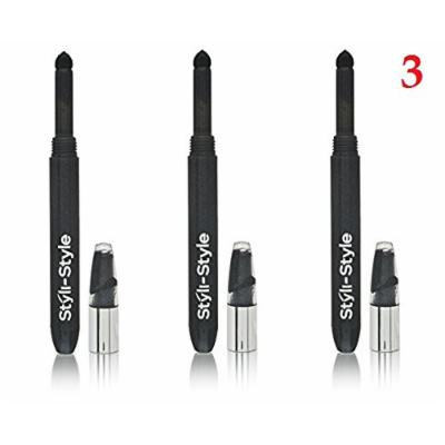 (Pack of 3) - Styli Style shadow 24, 3413 Onyx