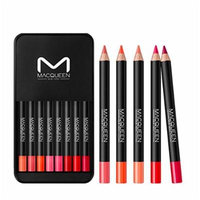 [MACQUEEN] MACQUEEN Retro Velvet Lip Pencil Set 8pcs