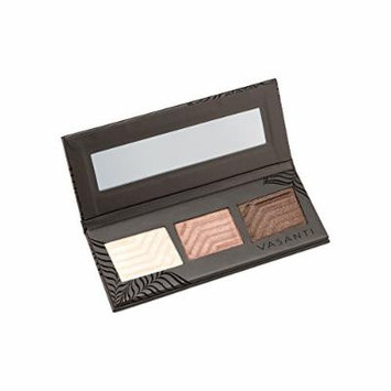 Vasanti Synchronicity Eyeshadow Trio Kit – Includes three rich metallic shades, a super soft eyeshadow brush, and glamorous false lashes. A match made in heaven (Destiny)