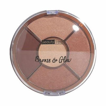 (3 Pack) BEAUTY TREATS Bronze and Glow Palette Shade 2