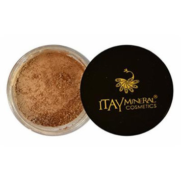 Bundle 2 Items: Itay Mineral Powder Foundation+ Matching Mineral Bronzer (MF-3M CAFE BON BON)