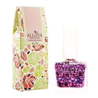 Alloya Natural Non Toxic Nail Polish, Water Based, Full Color (108)
