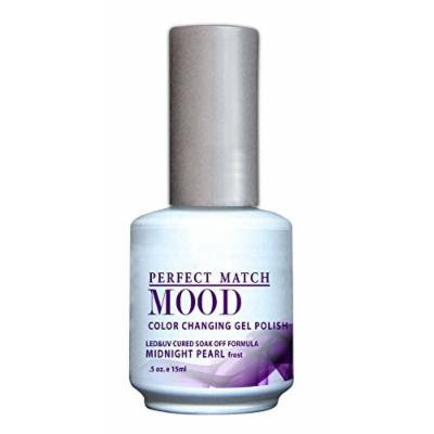 LECHAT Perfect Match Mood Gel Polish, Midnight Pearl, 0.500 Ounce by LeChat