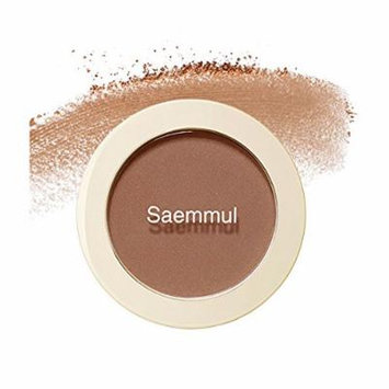 (3 Pack) the SAEM Saemmul Single Blusher BR01 Call Me Brown (Shading)