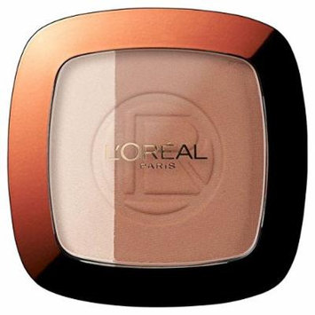 L'Oreal Glam Bronze Duo, Brunette 302 (PACK OF 6)