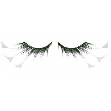 Zinkcolor White Feather Tip False Eyelashes F157 Dance Halloween Costume by Zink Color