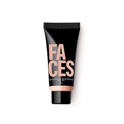 Linha Faces Natura - Base Extra Leve Claro 2T FPS 8 (20 Ml) - (Natura Faces Collection - Extra Light Foundation SPF8 Fair 3T 0.67 Fl Oz)