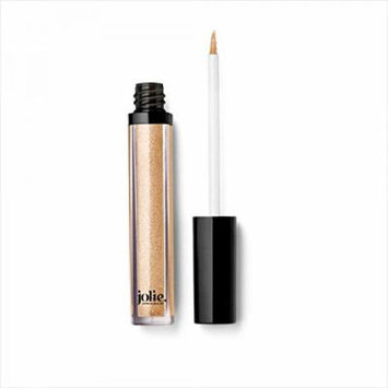 Jolie Liquid Lustre - High Shimmer Gloss W/ Lip Plumping Peptide Complex (Goldie Luxe)