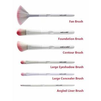 Wet n Wild White & Pink 6-pc Brush Bundle set