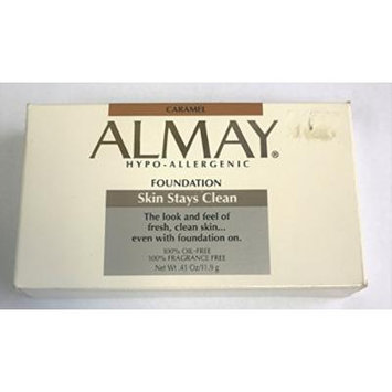 Almay Skin Stays Clean Foundation Powder - Caramel