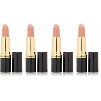 Revlon Super Lustrous Lipstick, Champagne on Ice 205 0.15 oz (Pack of 4) + FREE Revlon Age Defying Wrinkle Remedy Line Filler, 0.41 Oz