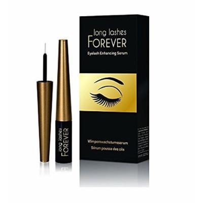 Long Lashes Forever, Eyelash Enhancing Serum, 4 ml + FREE Curad Dazzle Bandages 25 Ct