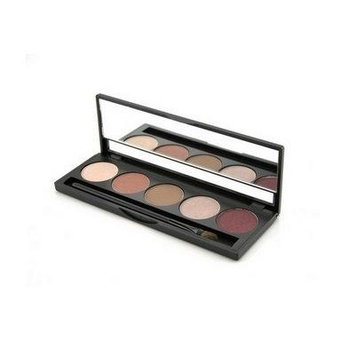 Jolie Micro Fine Mineral 5 Shade Eyeshadow Compact W/ Brush - Antique Elegance