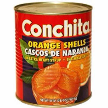 Orange shells in syrup by Conchita 32 oz