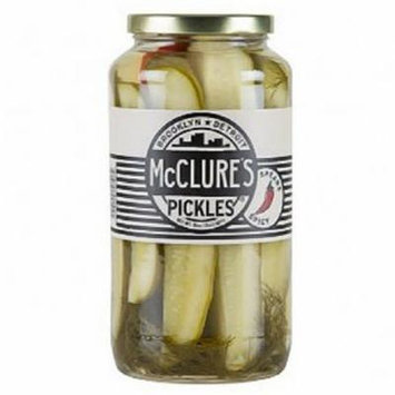 McClure's Spicy Pickles 32 Oz