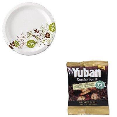 KITDXEUX9WSPKYUB866550 - Value Kit - Yuban Regular Roast Coffee (YUB866550) and Dixie Pathways Mediumweight Paper Plates (DXEUX9WSPK)