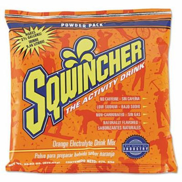 Sqwincher - Powder Concentrate Electrolyte Drink Package, Orange, 23.83oz Packet, 32/Carton 016041OR (DMi CT