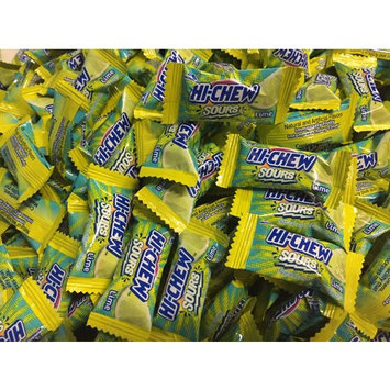 Hi-Chew - Soft and Chewy Candy from Japan Individually Wrapped Single Flavor - Two Full Pounds Bulk Wholesale (Extra Sour Lime)