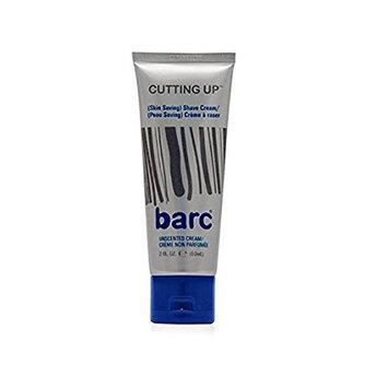 Barc Cutting Up, Unscented Shave Cream, 2 Oz + FREE LA Cross 71817 Tweezer