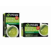 Ito En Matcha Green Tea, Peppermint, 20 Count (Pack of 8)