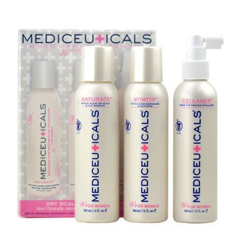 Therapro Mediceuticals Womens Hair Loss Kit (dry scalp & hair therapy) - Dry Scalp / 3-piece kit