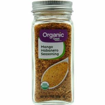 Great Value Organic Mango Habanero Seasoning, 2.9 oz