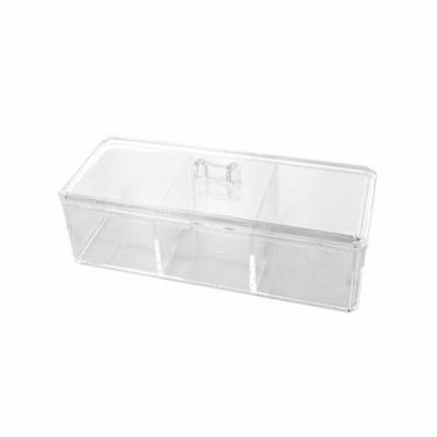Lidded Multi Purpose Cosmetic Organizer, Pack of 2