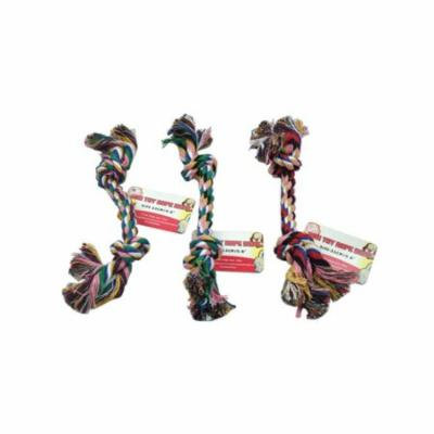 Knotted Dog Rope Toy, Pack of 36