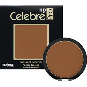 Mehron Makeup Celebre Pro-HD Pressed Powder Face & Body Makeup (.35 oz) (DARK 4)
