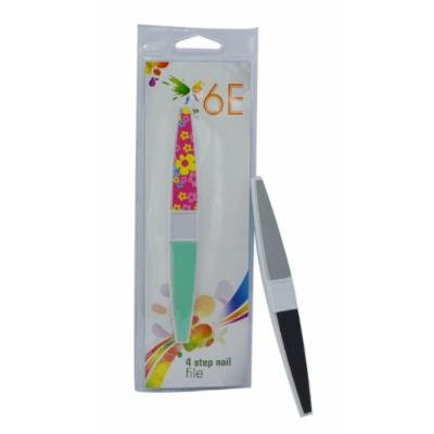 6E 4 Step Nail File Pack of 3