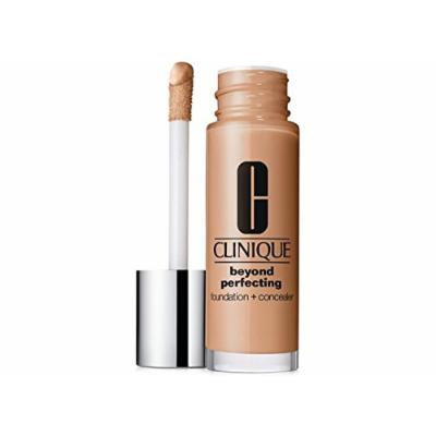 Clinique Beyond Perfecting Foundation + Concealer - Lightweight, Moisturizing Makeup (Beige)