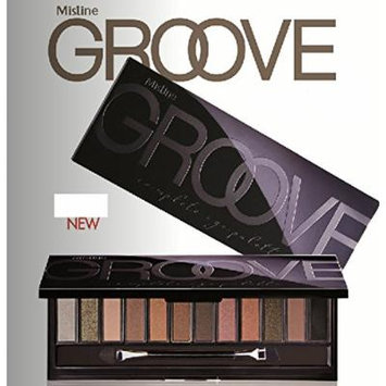 Mistine Groove 12 Colors Eye Shadow Complete Eye Palette