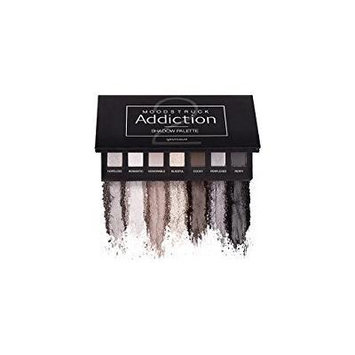 Younique Moodstruck Addiction Shadow Palette 2 Cool With Shades Of Black And Silver