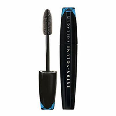 3 x L'Oreal Paris, Extra-Volume Collagen Waterproof Black Mascara, 9ml, New