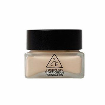 [3CE]3CE COVER CREAM FOUNDATION 35g (#02 Natural ivory)