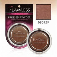 Zuri Flawless Pressed Powder - Hot Cocoa (Pack of 6)