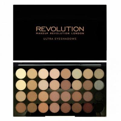 Revolution Ultra 32 Shade and Awesome 100 Eyeshadow Collection Eyeshadow Palette Professional Makeup (BEYOND FLAWLESS)
