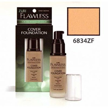Zuri Flawless Cover Foundation - Blush Brown (Pack of 6)