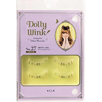 DOLLY WINK Koji False Eyelashes, No. 27 Brown Girl, 0.5 Pound by Dolly Wink